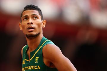 South African sprinter Wayde Van Niekerk (Getty Images)