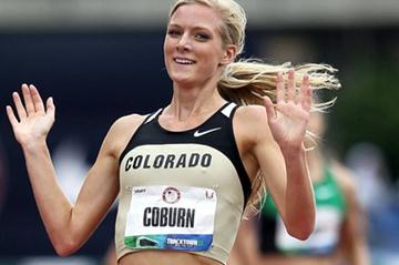 Emma Coburn takes a convincing steeplechase win at the US Olympic Trials (Getty Images)