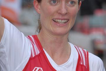 Senior Women's winner Andrea Mayr (Austria) - WMRA Trophy 2008 (Pete Hartley)