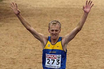 Sergiy Lebid wins his fifth European Cross Country title (AFP/Getty Images)