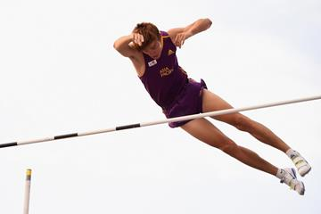 Xue Changrui at the 2014 IAAF Continental Cup (Getty Images)