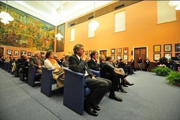 Ceremony in Rome marking the tenth anniversary of the death of former IAAF President Primo Nebiolo (Marco Sicari)