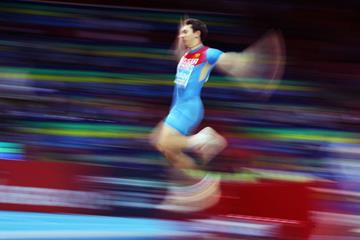 Russian long jumper Aleksandr Menkov (Getty Images)