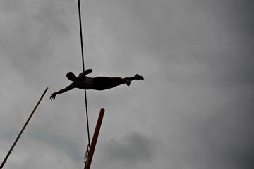 French pole vaulter Axel Chapelle (Getty Images)