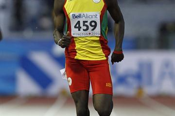 Kirani James improves on the silver he won two years ago with gold in the 400m (Getty Images)