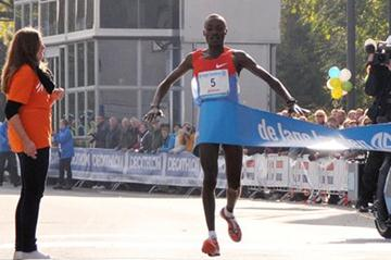 Course record for Dickson Chumba in Eindhoven (Marathon Eindhoven)