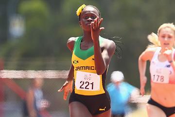 Jamaican sprinter Junelle Bromfield (Getty Images)