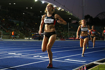 Australian 1500m runner Linden Hall (Getty Images)