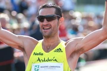 Spain's Francisco Fernandez takes a convincing victory in Sesto San Giovanni (Lorenzo Sampaolo)