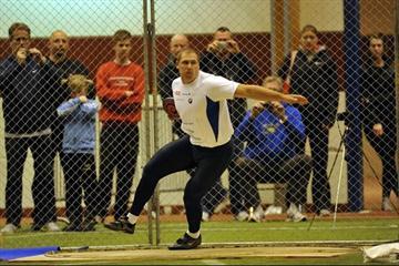Gerd Kanter throws 66.92m indoors in Vaxjo (DECA Text&Bild)