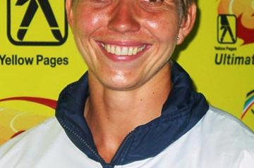 African Discus Throw record holder Elizna Naude (Mark Ouma)