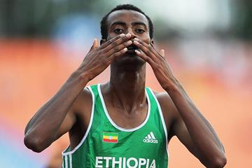 Ethiopian distance runner Yomif Kejelcha (Getty Images)