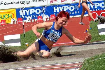 Sonja Kesselschlager in the Long Jump (IAAF)