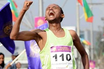 A big win for Museneh Girimaw at the Great Ethiopian Run (Organisers)