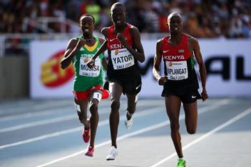 The boy's 3000m final at the IAAF World Youth Championships, Cali 2015 (Getty Images)