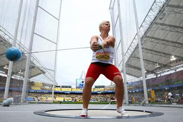 Polish hammer thrower Anita Wlodarczyk (Getty Images)