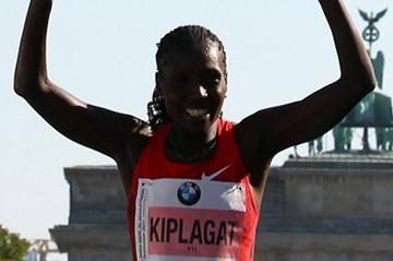 Florence Kiplagat joins the sub-2:20 club in Berlin after her 2:19:44 victory (Getty Images)
