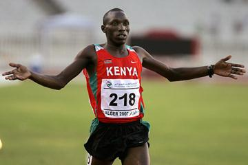 Victorious in Algiers - Willy Komen continues the Kenyan Tradition (AFP)