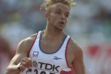 Jamie Baulch in the 400m at the 1997 IAAF World Championships (Getty Images)