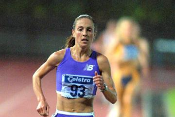 Susie Power in the 2001 Zatopek 10,000m (Getty Images)