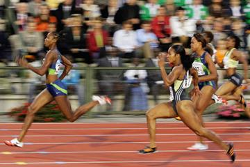 Sherone Simpson dominates in Brussels (Getty Images)