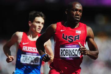 American 800m runner Khadevis Robinson (Getty Images)
