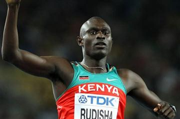 David Rudisha celebrates winning gold in the men's 800m (Getty Images)