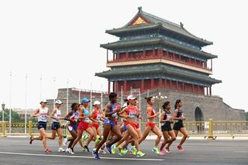 The women's marathon at the IAAF World Championships, Beijing 2015 (Getty Images)