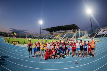 The decathlon field at the IAAF World U20 Championships Bydgoszcz 2016 (Getty Images)