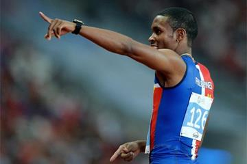 Eric Cray, winner of the 100m at the Southeast Asian Games (Getty Images)