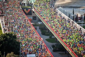 Runners in the 2015 Maraton Valencia Trinidad Alfonso (Organisers)