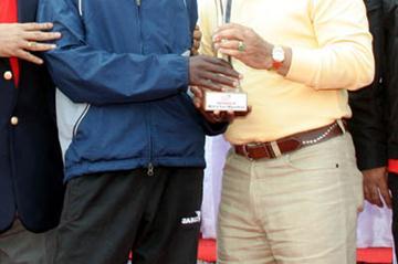 Pune Marathon winner Philip Makau Muia (organisers)