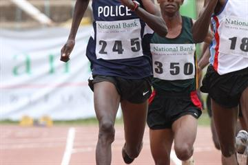 Asbel Kiprop in the opening round of the Kenyan Trials (Stafford Ondego/The Standard)