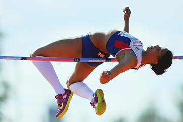 Morgan Lake, winner of the high jump at the European Junior Championships (Getty Images)