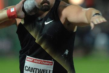 22.22m meet record for Christian Cantwell in Zagreb (Zagreb meeting organisers)