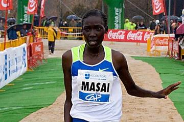 Linet Masai cruises to another impressive victory, this time in Alcodendas (Enrique Yuste)