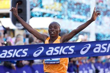 John Mwangangi wins over 10 miles in Zaandam (Organisers)
