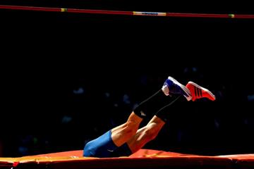 Bogdan Bondarenko in high jump qualifying at the IAAF World Championships, Beijing 2015 (Getty Images)