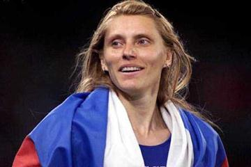 Irina Privalova (RUS) - 2000 Olympic 400m Hurdles Champion (Getty Images)