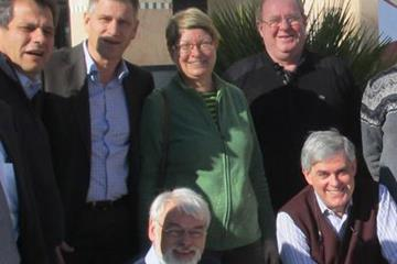 Sigyn Ekwall (SWE) - centre in green - with other members of the IAAF Technical Committee including Chairman Jorge Salcedo and IAAF Competitions Director Paul Hardy (IAAF)