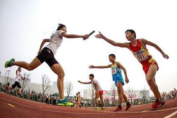 The mixed 8x100m relay test event for the 2014 Youth Olympic Games (Nanjing 2014)