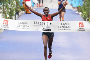 Rose Chepchumba wins the Marathon des Alpes-Maritimes (Organisers)