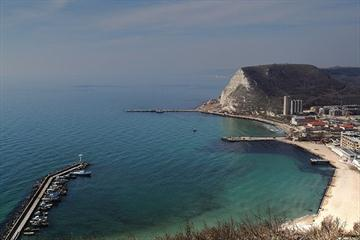 Bulgarian Black Sea resort city of Kavarna (Manatari / Wikimedia Commons)