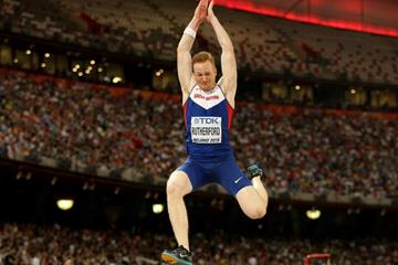 Greg Rutherford wins the long jump at the IAAF World Championships, Beijing 2015 (Getty Images)