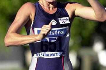 Jane Saville - Commonwealth Champion (Getty Images)