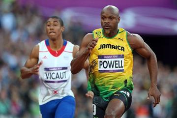 Jamaican sprinter Asafa Powell (Getty images)