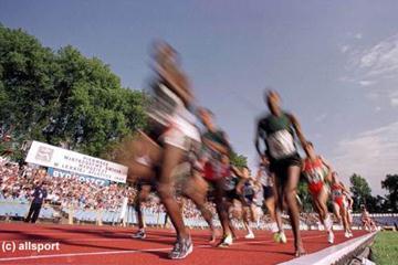 The 3000m men's race in Bydgoszcz (© Allsport)