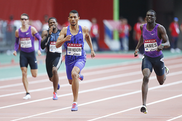 Wayde van Niekerk wins the 400m at the IAAF Diamond League meeting in Paris (Getty Images)