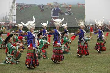 The opening ceremony at the IAAF World Cross Country Championships, Guiyang 2015 (Getty Images)