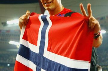 Andreas Thorkildsen wins the Olympic javelin title again (Getty Images)